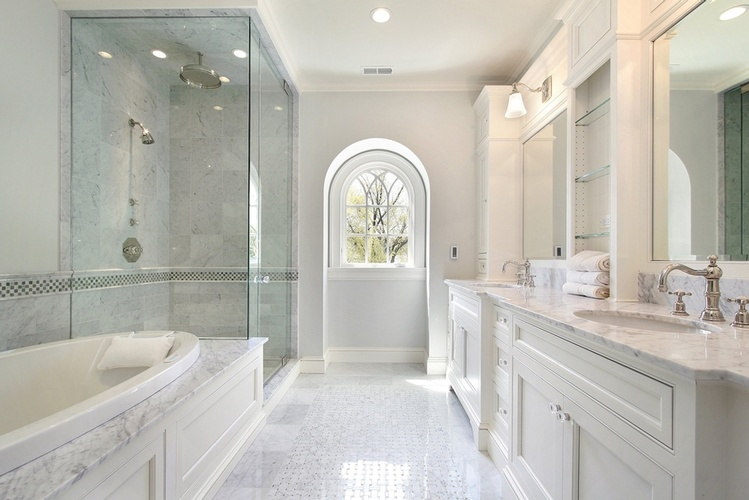 Natural Stone Tile Flooring in Atlanta by Old Castle Home Design Center
