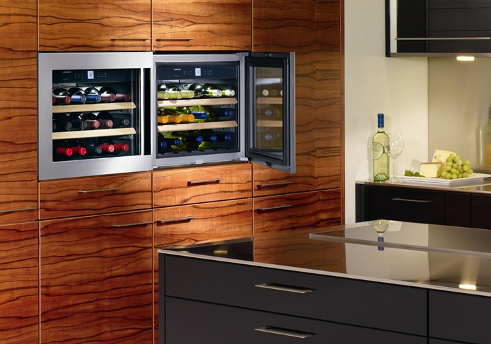 Built in Wine Cooler - Kitchen Appliances by Old Castle Home Design Center