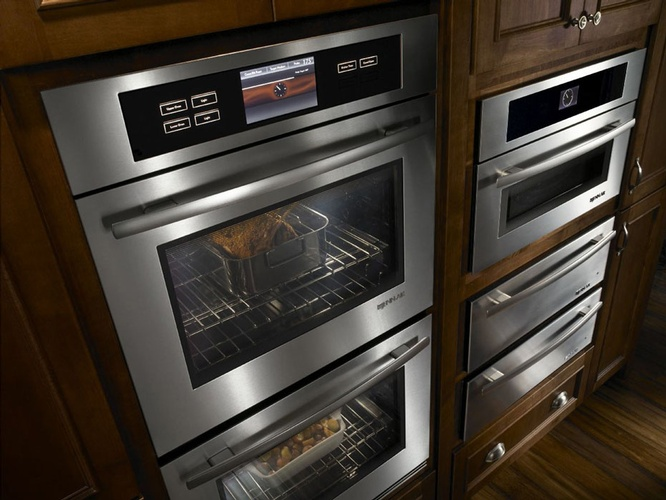 Wall Oven Cabinets Design by Old Castle Home Design Center in Atlanta