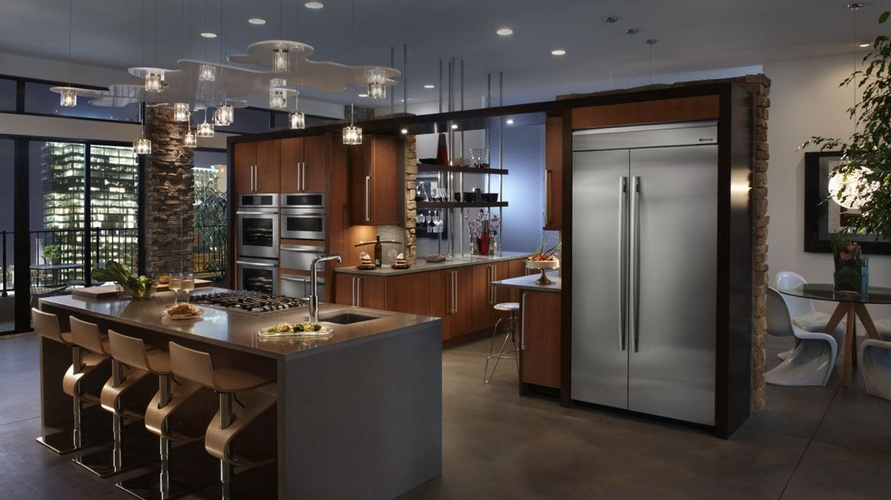 Modern Kitchen Appliances Atlanta by Old Castle Home Design Center