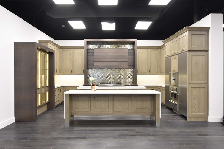 Wood Kitchen Cabinets by Old Castle Home Design Center