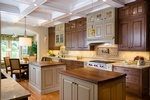 Modern Kitchen Backsplash Design by Old Castle Home Design Center in Atlanta GA