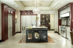 Dual Tone Kitchen Cabinets Atlanta - Old Castle Home Design Center