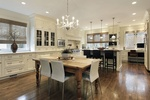 Beige Painted Kitchen Cabinets Atlanta - Old Castle Home Design Center