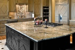 Granite Kitchen Countertop designed  by Old Castle Home Design Center in Atlanta