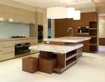 Kitchen Countertop by Best Interior Design and Renovation Company in Atlanta - Old Castle Home Design Center