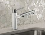 White Kitchen Faucet by Old Castle Home Design Center Atlanta GA