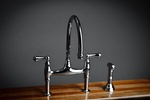 Gray Stainless Steel Faucet by Old Castle Home Design Center