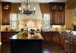 Kitchen Hood in Atlanta by Old Castle Home Design Center