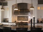 Modern Kitchen Hood Design by Old Castle Home Design Center in Atlanta GA