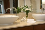 Acrylic Bathroom Accessories by Old Castle Home Design Center