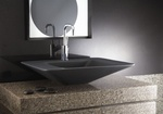 Gray Wash Basin - Bathroom Accessories by Old Castle Home Design Center