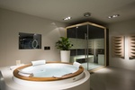 Modern Relaxing Bathroom Design by Old Castle Home Design Center
