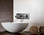 Round White Bathroom Wash Basin - Bathroom Accessories by Old Castle Home Design Center