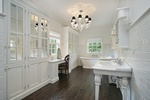 Bathroom Wood Flooring by Old Castle Home Design Center