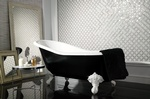 Glass Bathroom Wall Tiles by  Old Castle Home Design Center