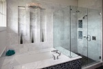 Polished Natural Stone Tiles in Atlanta by Old Castle Home Design Center