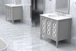 Marble Bathroom Design by Old Castle Home Design Center