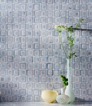 Blue Ceramic Bathroom Wall Tiles by Old Castle Home Design Center