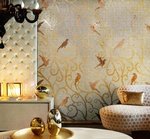 Mosaic Tiles Design by  Old Castle Home Design Center  in Atlanta