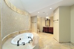 Bathroom Crystal Glass Mosaic Tiles by Old Castle Home Design Center