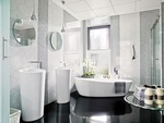 Decorative Bathroom Glass Tiles by Old Castle Home Design Center