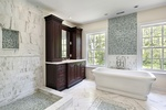 Bathroom Natural Stone Tiles by Old Castle Home Design Center