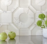 White Marble Wall Tiles for Bathroom by Old Castle Home Design Center