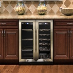 Built-in Beverage Cooler - Kitchen Appliances by Old Castle Home Design Center