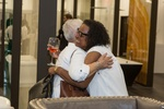 Happy Clients at Old Castle Home Design Center Showroom in Atlanta