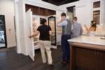 Clients Checking Out Kitchen Accessories by Old Castle Home Design Center