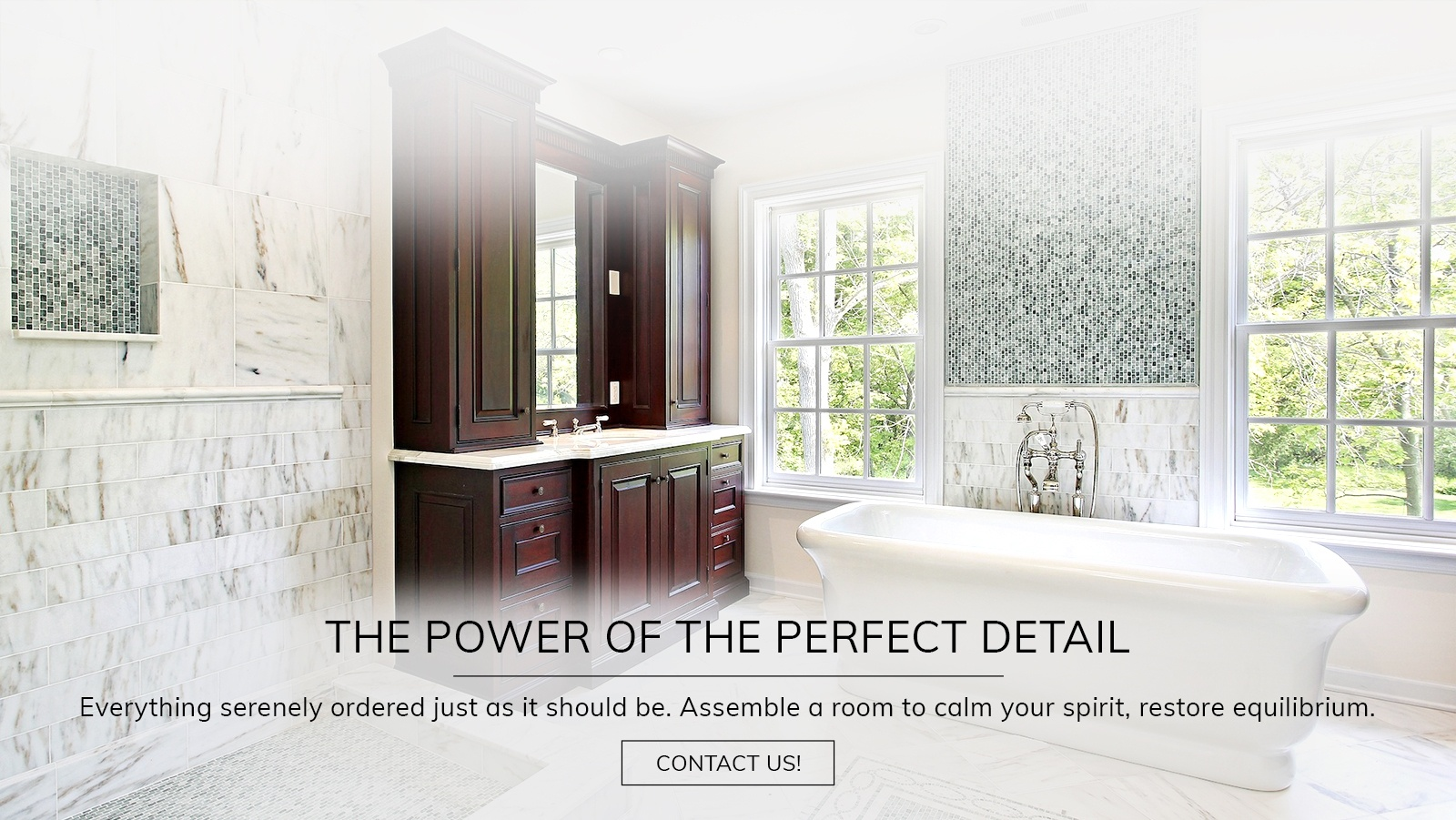 Bathroom Flooring and Fixtures in Atlanta by Old Castle Home Design Center