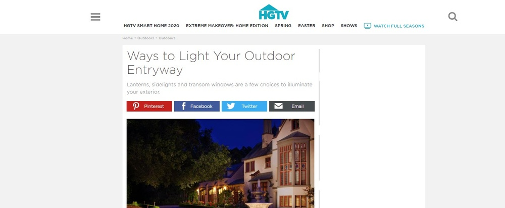 Ways to Light Your Outdoor Entryway   HGTV.jpg