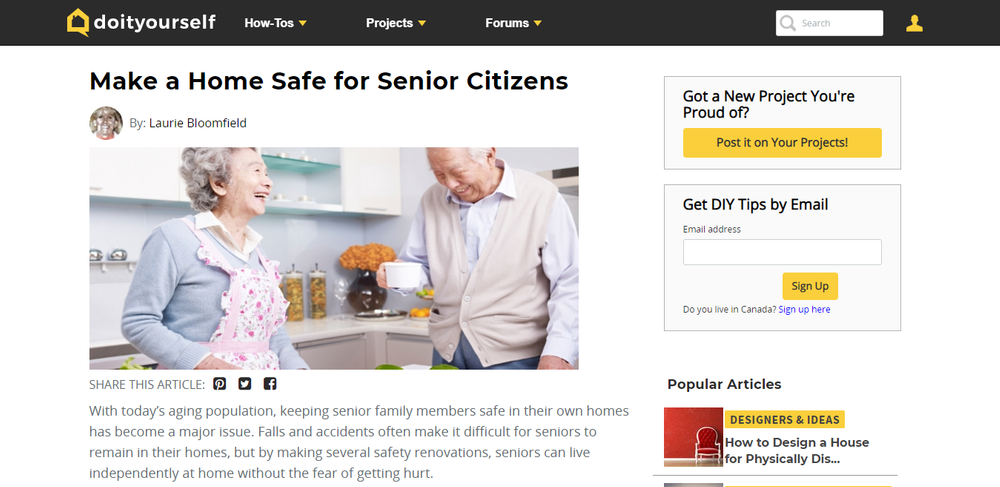 Make a Home Safe for Senior Citizens   DoItYourself com.png