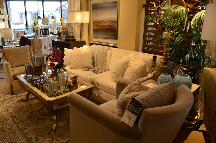 Custom Furniture at Furniture Showroom Carmel - Luxe Home Interiors