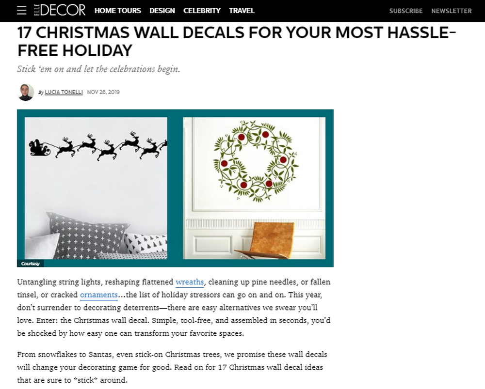 17 Best Christmas Wall Decals - Simple and Easy Holiday Decals To Try.png