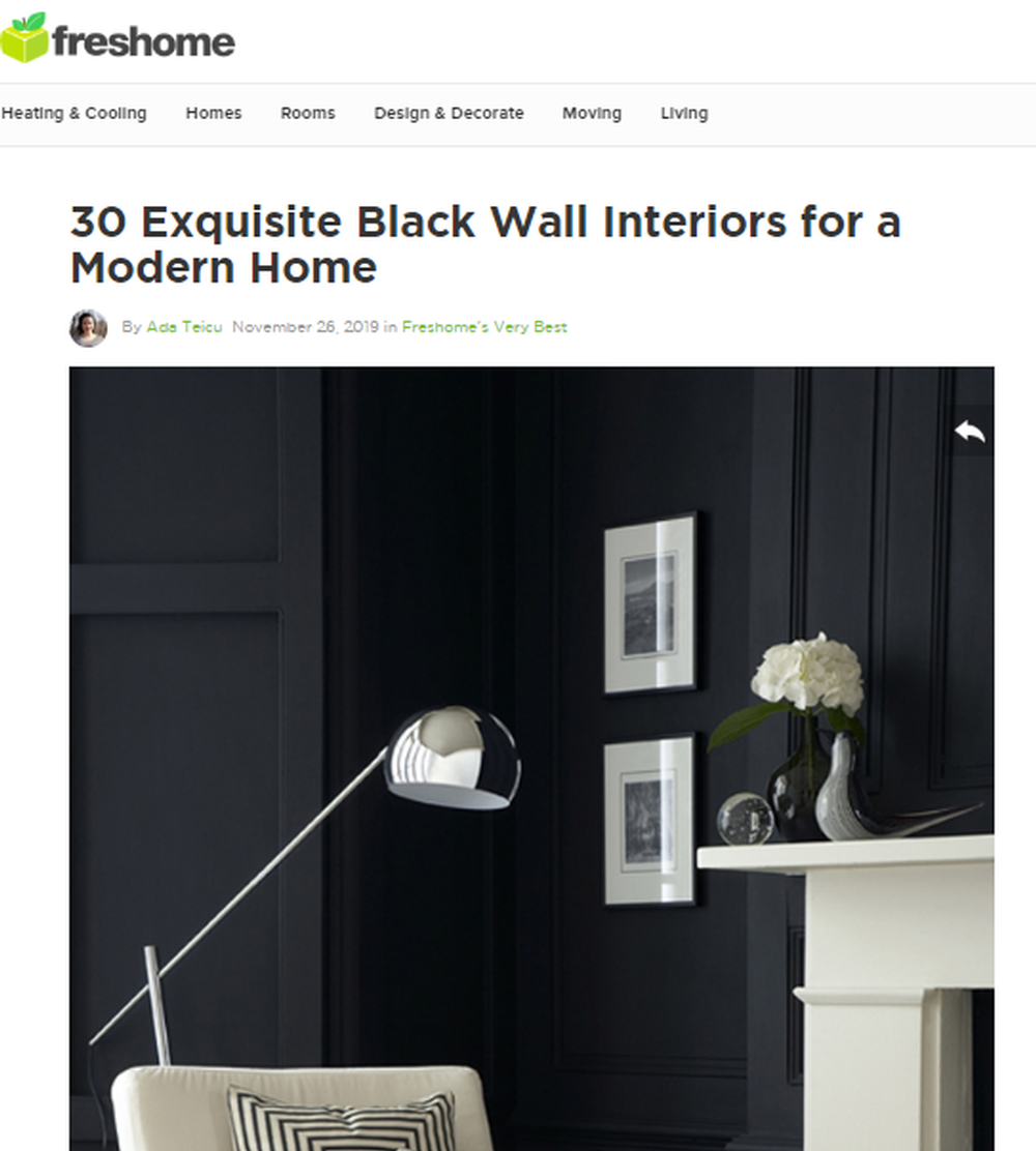 30 Exquisite Black Wall Interiors for a Modern Home   Freshome com.png
