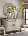 Modern Console Cabinet - Room Arrangement Consultations Carmel IN by  Luxe Home Interiors