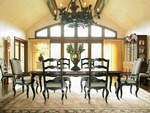 Luxury Dining Room Interior Design Services Cicero by Luxe Home Interiors