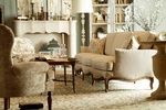 Custom Furniture by Luxe Home Interiors - Furniture Showroom Carmel
