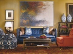 Living Room Interior Design Services Carmel by Luxe Home Interiors
