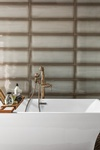 Modern Bathtub - Interior Design Services Fort Wayne IN by Luxe Home Interiors