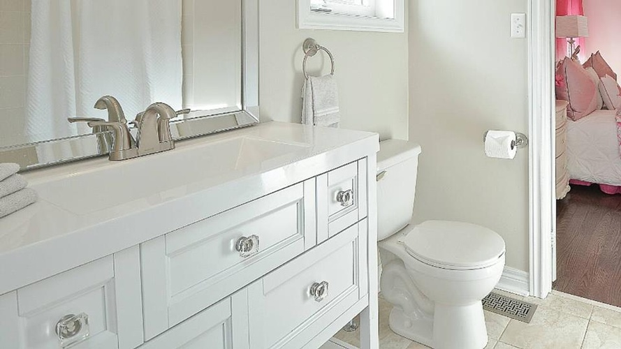 Modern Bathroom Vanity - Bathroom Renovation Newmarket by Handle This