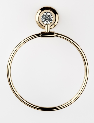 Glam Towel Ring - Buy Bathroom Accessories in Aurora at Handle This