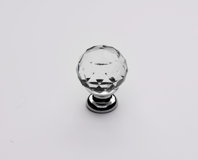 Elegant Chrome Crystal Knob - Buy Crystal Knobs Toronto ON at Handle This
