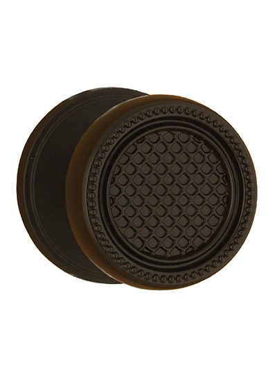 Buy Patterned Brown  Cabinet Door Knob in Newmarket at Handle This