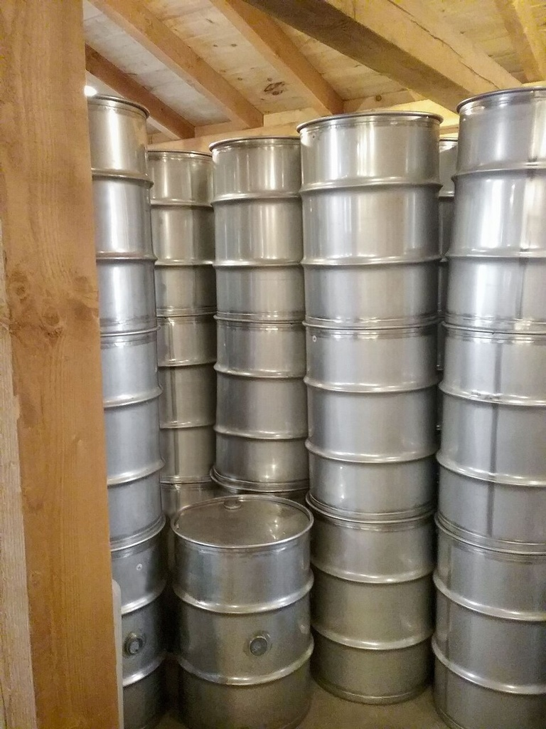 Full 151 L Barrel of Maple Syrup