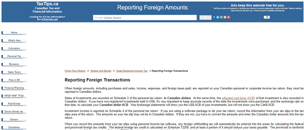 TaxTips ca - Reporting foreign amounts on your Canadian income tax return.png