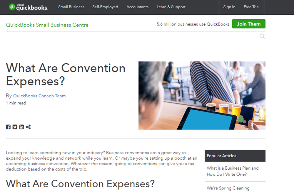 What Are Convention Expenses    QuickBooks Canada.png