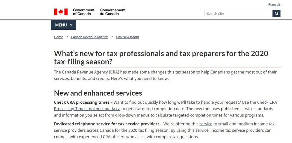 What's new for tax professionals and tax preparers for the 2020 tax-filing season  - Canada ca (2).jpg